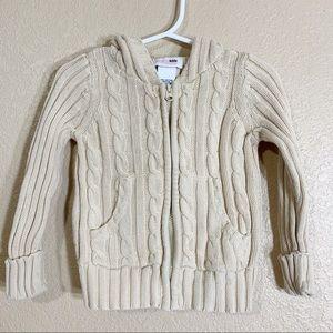 Genuine kids from Oshkosh chunky knit sweater 2T